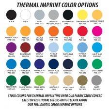 Stock Color Table Covers